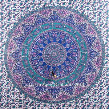 Tapestry Wall Hanging, Mandala Tapestries, Hippie Tapestries, Indian Tapestry, Wall tapestries, Bohemian Tapestries, Dorm Tapestrie Decor