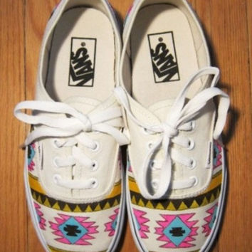 Tribal Aztec Vans Shoes
