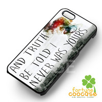 Lyric Panic at The Disco - 123zz for  iPhone 6S case, iPhone 5s case, iPhone 6 case, iPhone 4S, Samsung S6 Edge