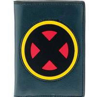Marvel Comics X-MEN Rubber Logo Bi-Fold WALLET