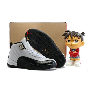 Jordan Air Retro 12 XII Men Basketball shoes TAXI Flu Game the master Varsity Red Deep Royal Athletic Outdoor Sport Sneakers