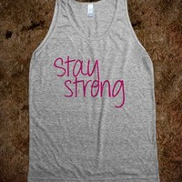 Stay Strong (pink)