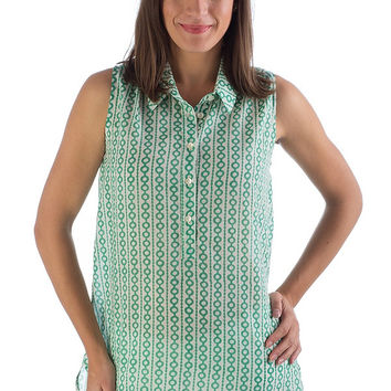 Organic Cotton June Tunic - Mint Julep