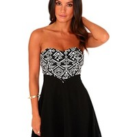ASOS Fashion Finder | Black Lace Eyelet Dress