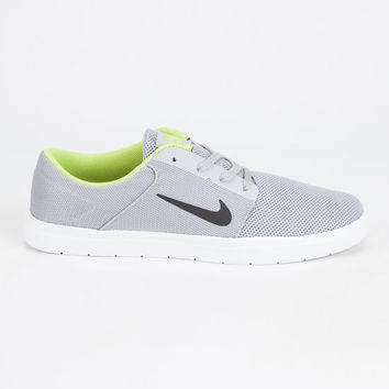 Nike Sb Portmore Renew Mens Shoes Grey  In Sizes
