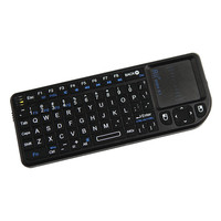 Rii Mini Wireless Keyboard Air Mouse Keyboards 2.4G Handheld Touchpad gaming keyboard for phone smart tv box android smartphones
