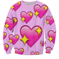 Heart Emoji Sweater