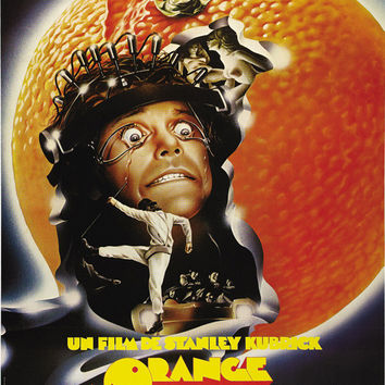 A Clockwork Orange (French) 11x17 Movie Poster (1972)