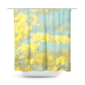Sunny Blooms 2 Shower Curtain