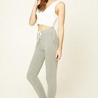 Heathered Knit Sweatpants