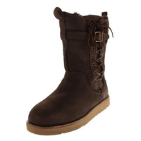 Ugg Australia Womens Amelia Sheepskin Lined Riding Boots