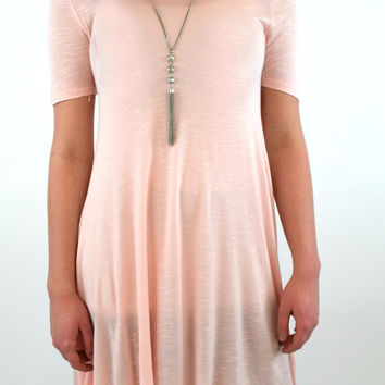 Madeline Swing Tunic - Blush