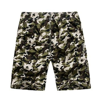 Men Jogger Sweatpants Casual Boxers Trunks Men's Active wear Gay Camouflage Beach Shorts Man Short Bottoms