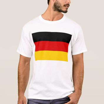 T Shirt with Flag of Germany
