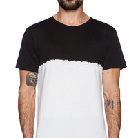 G-Star Tezmed Tie Dye Tee in Black & White