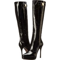 Versace Collection Knee High Stiletto Boot
