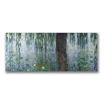 ''Water Lilies Morning'' Canvas Wall Art by Claude Monet