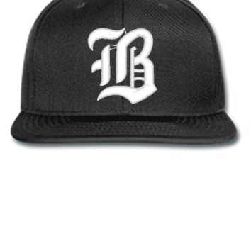 B EMBROIDERY HAT  - Snapback Hat