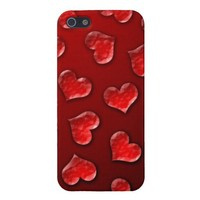 Crystal Hearts Covers For iPhone 5 from Zazzle.com