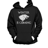 Winter is Coming Stark Family Game of Thrones Unisex Hoodie,Nerd Girl Tees,Geek Chic