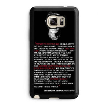 tate langdon evan peters samsung galaxy note 5 note edge cases