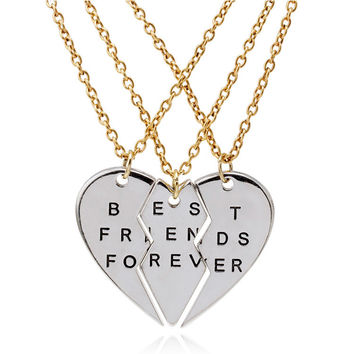 3 Piece - Best Friends Necklace Set
