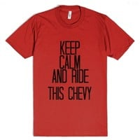Chevy-Unisex Red T-Shirt