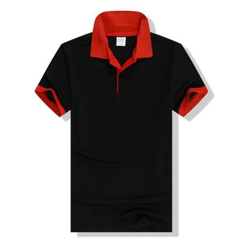 Mens Polo Man Black Short Sleeve Asian Size Male Tops Tees 2018 Summer Men Clothes AMP164001