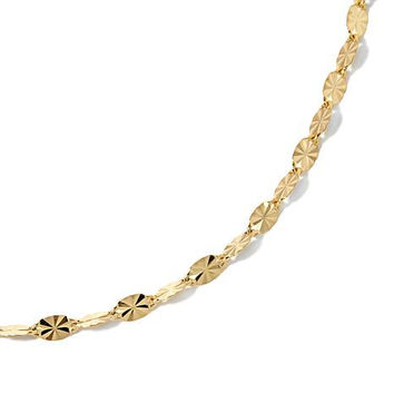 Michael Anthony 10K Starburst Chain Necklace 18 Inches
