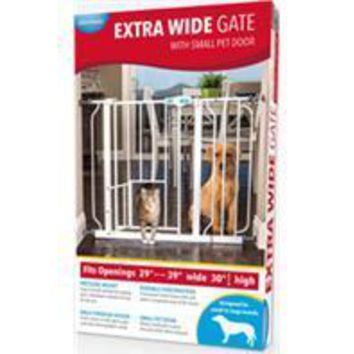 Carlson Pet Products-Extra Wide Walk-through Gate W-door