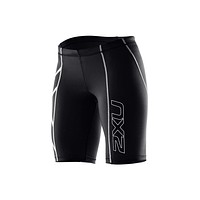 2xu Women's Compression Shorts Brand Elastic Waist Moisture Wicking Short Pants In Stock