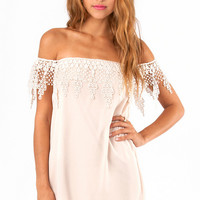 Esmerelda Off Shoulder Dress $37