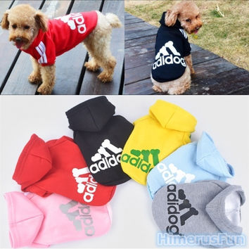 Pet Puppy Clothes Winter Coat Cat Dog HOODIES Sweater Clothes Costume Jacket = 1929999812