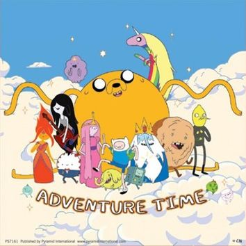 High in the Sky Adventure Time Sticker - Buy Online at Grindstore.com