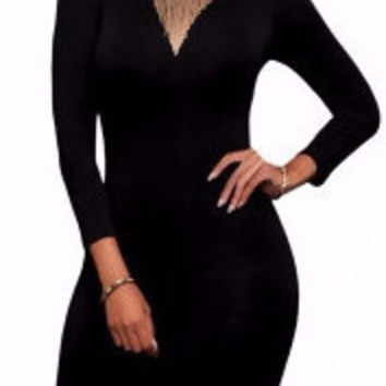 Temptation Cut-Out Bodycon Dress
