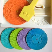 Vintage Fisher Price Music Box Record Player 1971
