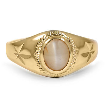 18K Yellow Gold The Felix Ring