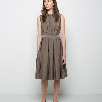 Inverted Pleat Dress  by Suno