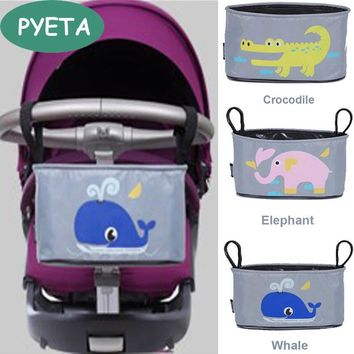Free Shipping Baby Stroller Organizer Diaper Bag Mother Bag Travel Nappy Bag Stroller Bags Cartoon For Accessory Storage