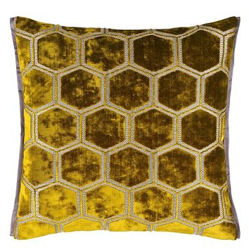 Designers Guild Manipur Ochre Decorative Pillow