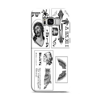 Justin Bieber Tattoos Samsung Galaxy S8 | Galaxy S8 Plus Case