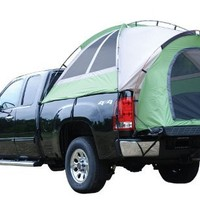 NAPIER Backroadz Full Size Crew Truck Tent, 5-Feet 5-Inch, Green/Beige/Grey