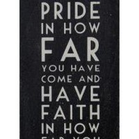 Long Black Sign Faith | Wall Art & Signs | Home Accessories | £12.99 - The Contemporary Home Online Shop