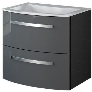 Palio 22 in. Small Wall Mounted Bathroom Vanity Cabinet Set Bath Furniture