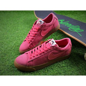 Nike SB Blazer Low GT x Supreme FTW 16 Pink Sport Running Shoes Sneaker - Sale