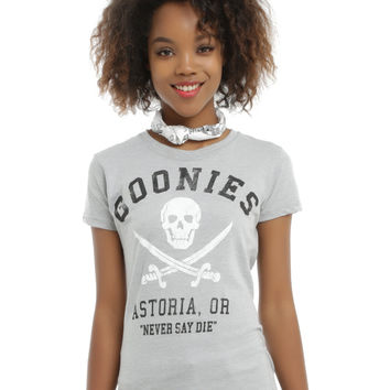The Goonies Never Say Die Girls T-Shirt