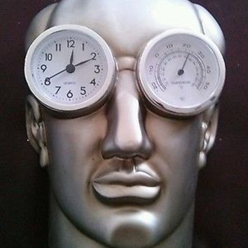 Museum Of Modern Life CLOCK Punctuality The Thief Of Time Oscar Wilde Sculpture
