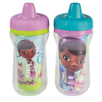 The First Years Disney Girls Doc McStuffins Insulated Sippy Cups - 2 Pack