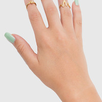 Love Midi Ring Set - One
