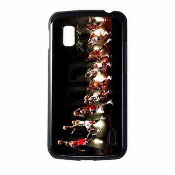 CREYUG7 Michael Jordan NBA Chicago Bulls Dunk Nexus 4 Case
